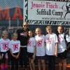 Andover Kids Visit Softball Clinic