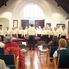 North Country Chordsmen Perform at KUUF Service
