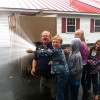 Andover Firefighters Make Fire Safety Exciting for AE/MS