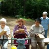 Marilyn Gould Enjoys an Outing to Franklin Sawmill