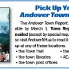 Pick Up Your Andover Town Report 2016!