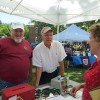 Rail Trail Booth Thanks Volunteers