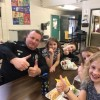 Andover Police Officer Dan Shaw Visits AE/MS