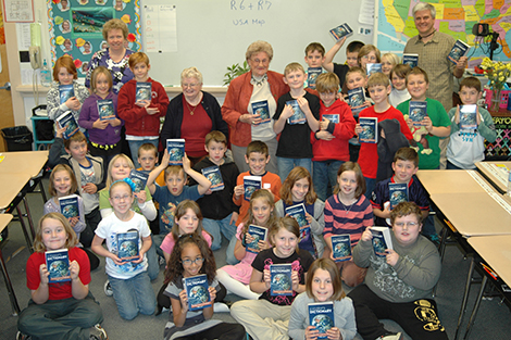 AE/MS Third Graders Get A Special Literary Treat