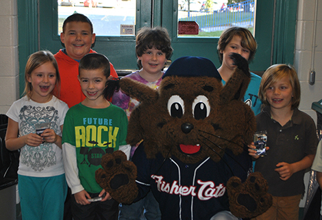 AE/MS Joins Fisher Cats Reading Challenge