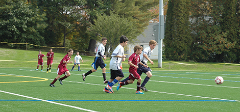 Andover Hosts Middle School Soccer Jamboree