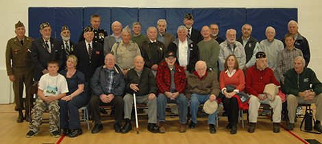 AE/MS Hosts Another Great Veterans Day Ceremony
