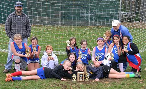 Andover Girls Soccer Wins Tournament