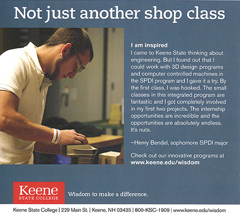 Henry Bendel Featured In College Ads
