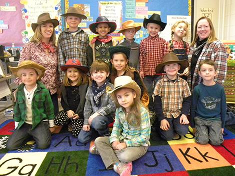 AE/MS Kindergarten Visits the Wild, Wild West