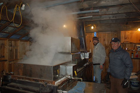 Maple Weekend on Tap for Andover Sugarhouses