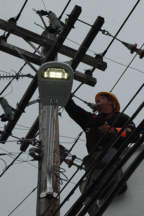 New Street Lights on Main Street Improve Safety, Save Money