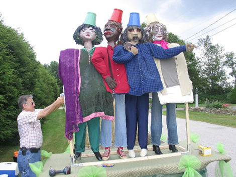 Meet the Puppets at the Red Barn in Wilmot