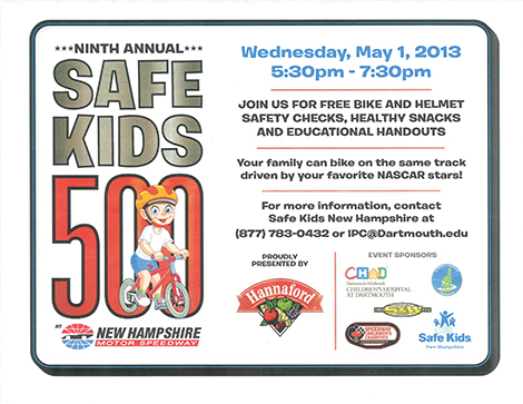 Ninth Annual Safe Kids 500
