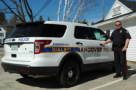 Andover Police Purchase New Cruiser