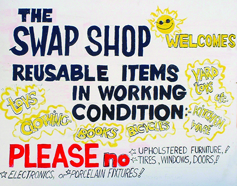 Swap Event at Transfer Station Returns for Another Year