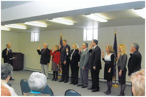 Merrimack Officials Sworn In by David Souter
