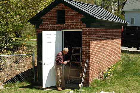 Bryant Adams Fixes Up the Old Pumping Station