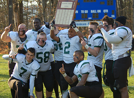 Proctor Football Undefeated in 2013