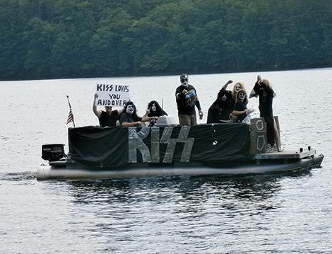 Highland Lake Boat Parade 2013