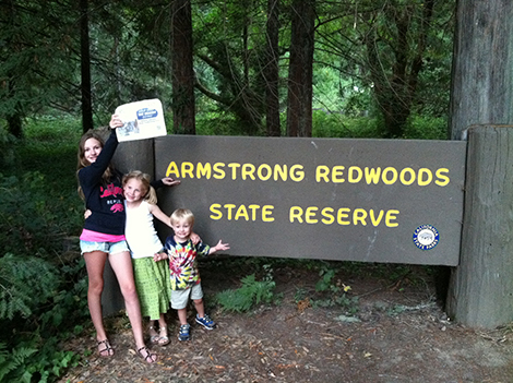 Around the World: The Armstrong Kids