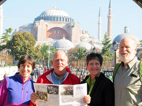 The Andover Beacon Visits Turkey