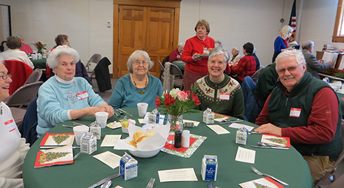 Senior Luncheon at WCA Cancelled for February