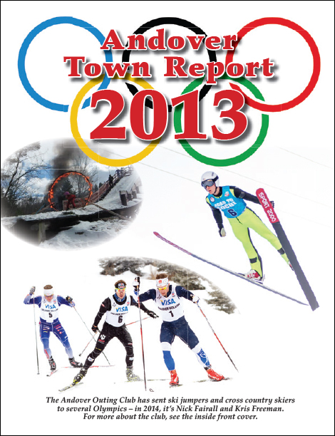 Andover Town Report 2013 Available Online