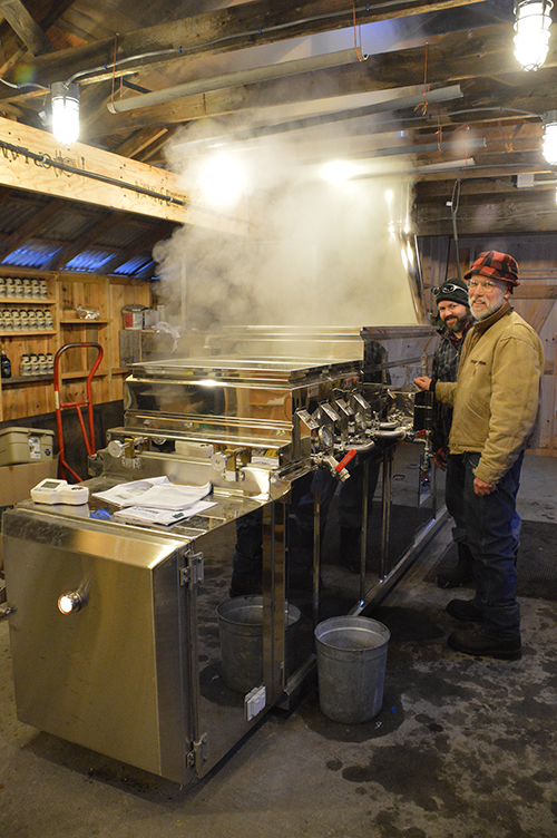 Tucker Mountain Maple Welcomes All for Maple Weekend