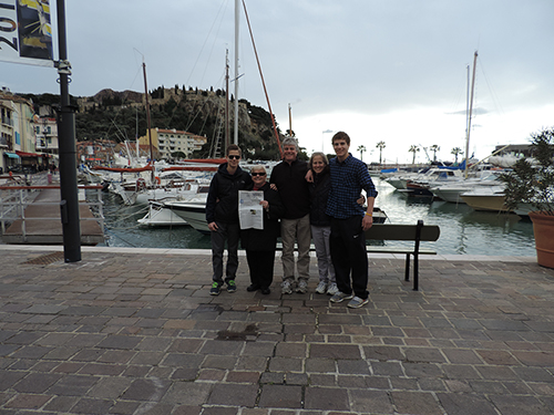 Around the World: The Barretts in France