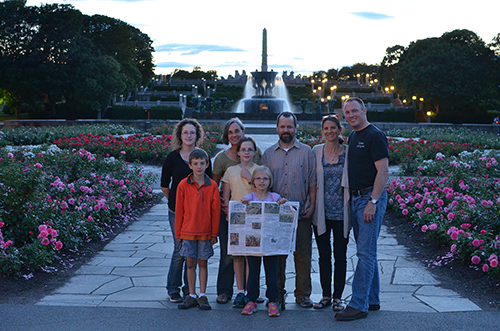 Around the World: The Johnsons and the Greens in Norway