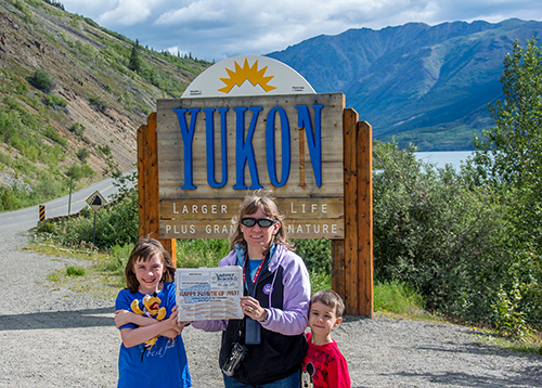 Around the World: The Provosts in the Yukon
