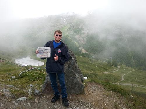 Nicholas Terwilliger at the Matterhorn