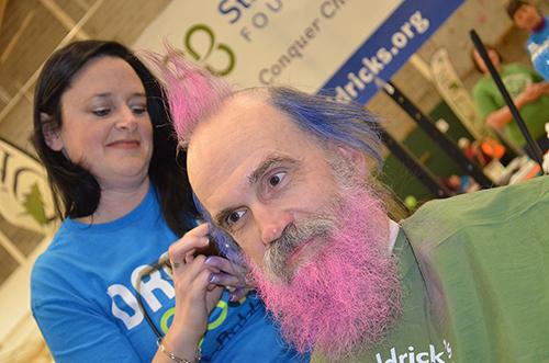 Photos from the St Baldricks fundraiser