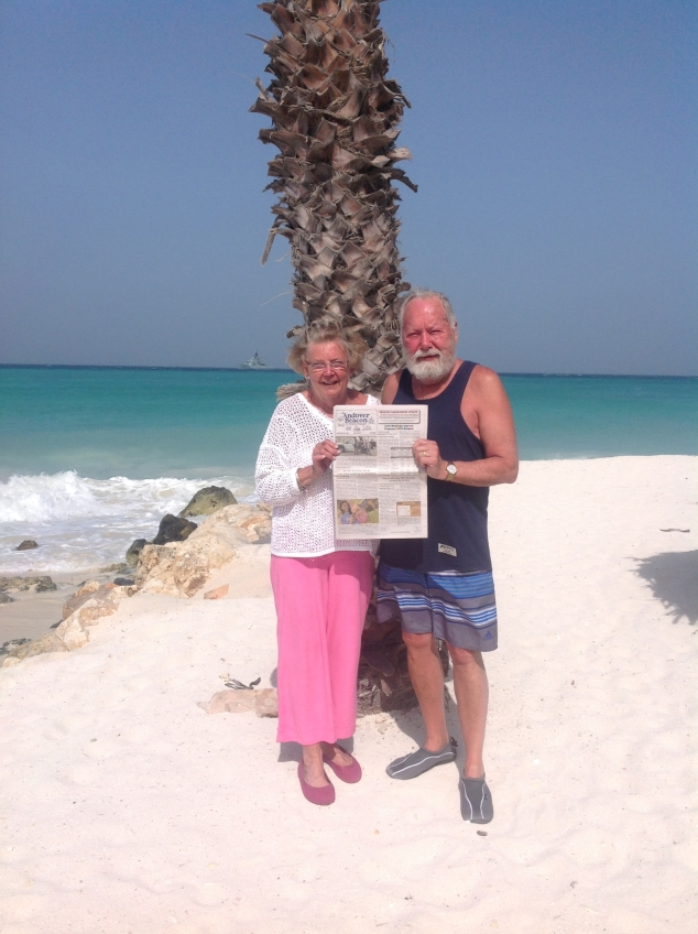 Around the World with the Beacon: Bill and Loretta Bates