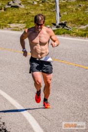 Justin and Kris Freeman, Daniel Moore Race Up Mount Washington