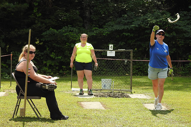 Andover Horseshoe Club Hosts State Tournament