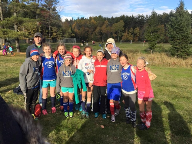 Andover Rec 5/6 Girls Soccer Goes Undefeated