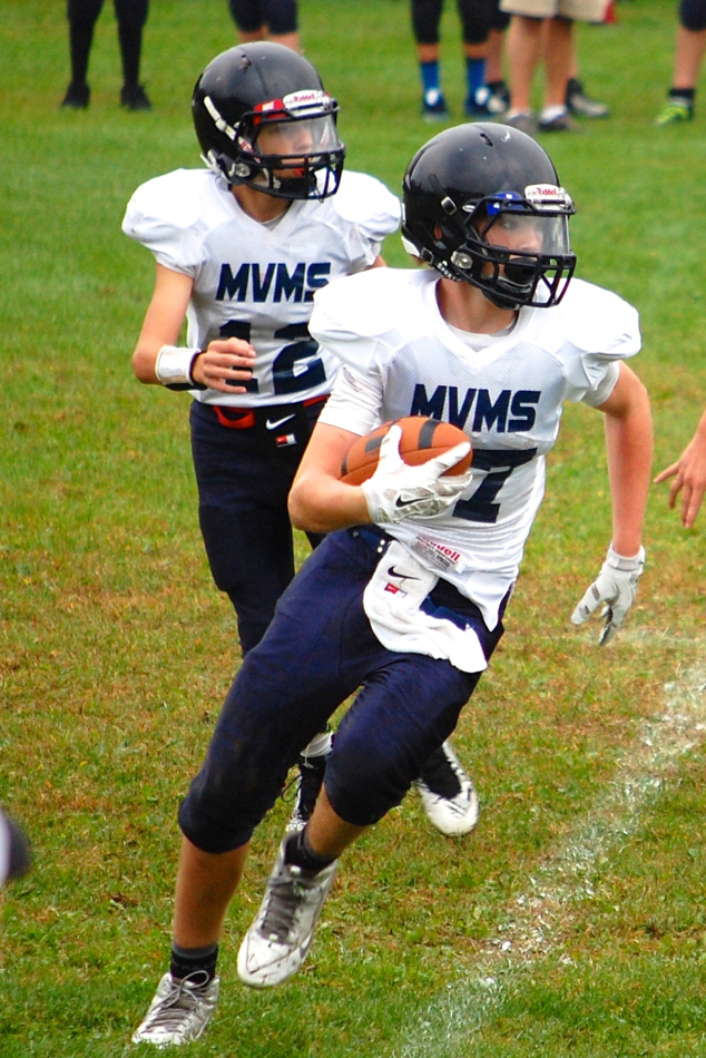 Two Andover Players Honored by Granite State Football League