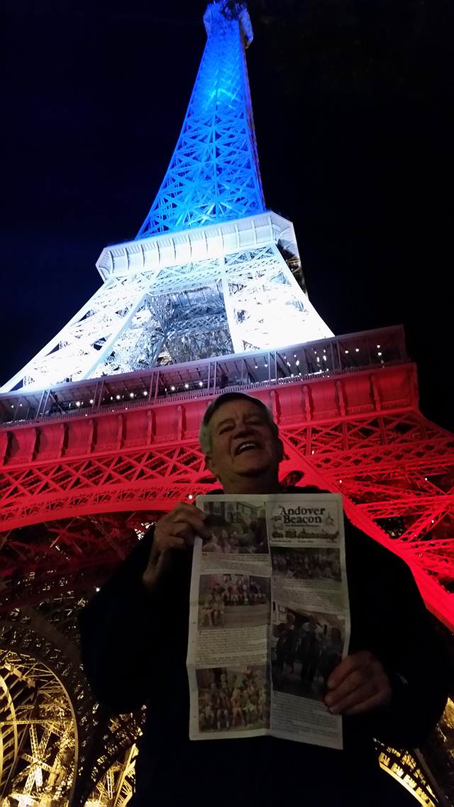 Around the World with the Beacon – Jim Goody in Paris