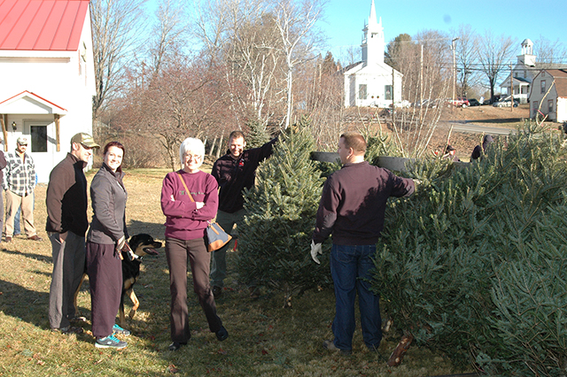 AFD Holds Its Annual Christmas Tree Fundraiser