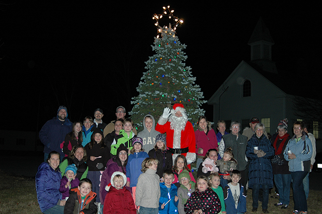 Christmas Tree Lighting at the Andover Town Hall