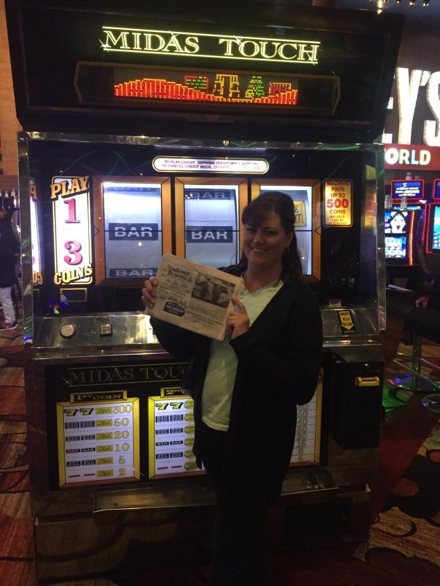 Angela Jones Carlson Celebrates 40 in Las Vegas