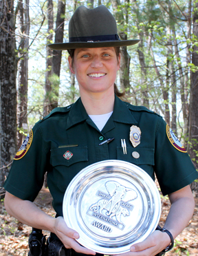 Heidi Murphy Honored as Wildlife Officer of the Year