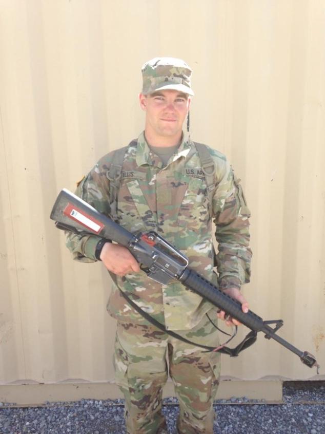 Adam Ellis Completes Army Basic Training