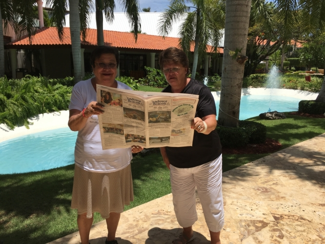 Tina French and Valerie Barton in the Dominican Republic
