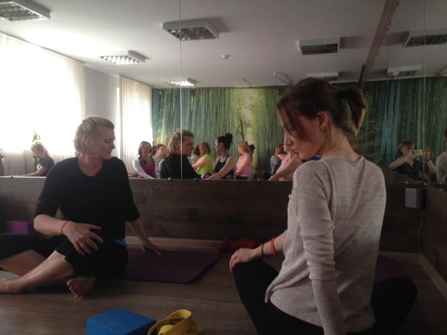 "Local Yoga Instructor Brings ""Breathing for Peace"" to Ukraine"