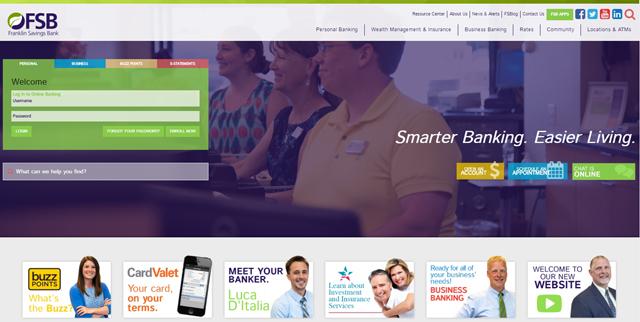 Franklin Savings Bank Unveils New Logo
