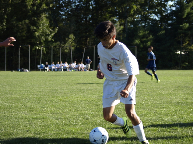 On the MVHS Soccer Team: Teigan Friedrich