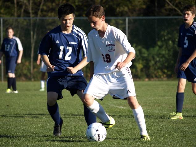 On the MVHS Soccer Team: Will Furtkamp